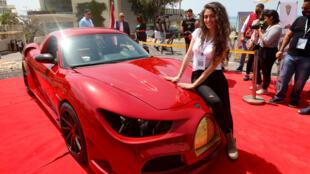 """سيارة كهربائية لبنانية أطلقت عليها تسمية """" القدس رايز"""""""