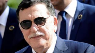 رئيس الحكومة الليبية المعترف بها دوليا، فايز السراج