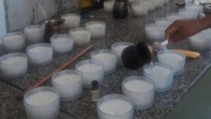 صناعة الشموع في لبنان