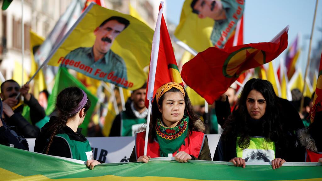 آلاف الأكراد يتظاهرون في ستراسبورغ