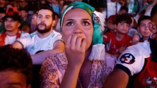 مشجعة جزائرية-