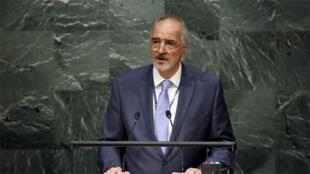 الممثل الدائم لسوريا لدى الأمم المتحدة بشار الجعفري