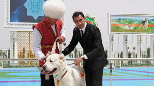 رئيس الوزراء التركمانستاني يشارك في اليوم الوطني لكلاب ألاباي