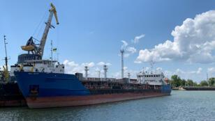 ناقلة النفط الروسية المحتجزة من قبل أوكرانيا