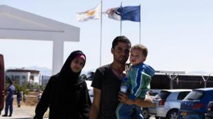 عائلة سورية في قبرص
