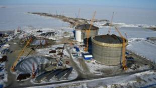 مشروع الغاز العملاق يامال في القطب الشمالي