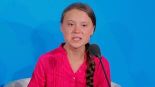 المراهقة السويدية غريتا تونبرغ