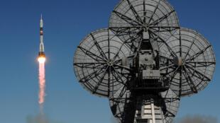 محطة الفضاء الدولية الروسية في قاعدة بايكونور