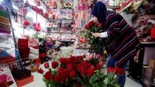 عيد الحب في بغداد / رويترز 14 شباط 2018