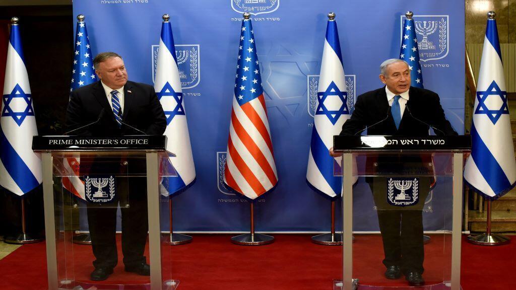 USA-ISRAEL-POMPEO