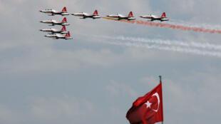 طائرات تدريب تركية في أنقرة