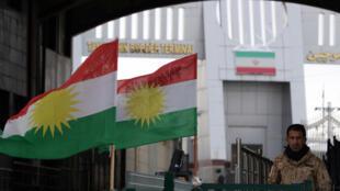 على الحدود العراقية الإيرانية في كردستان العراق
