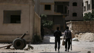 منطقة جوبر في ضواحي دمشق ( 27-07-2015)