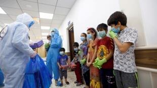 enfants_coronavirus_najaf_irak