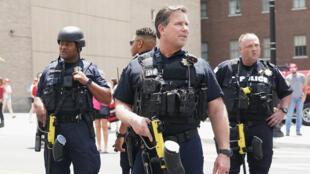 عناصر من شرطة ولاية أوكلاهوما الأمريكية