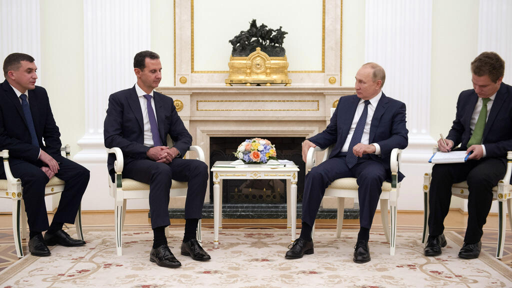 فلاديمير بوتين وبشار الأسد في العاصمة الروسية موسكو