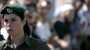 جندية في جيش الدفاع الإسرائيلي