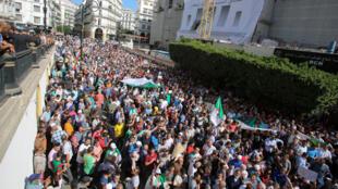 مظاهرة في الجزائر العاصمة يوم 13 اكتوبر 2019