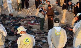 الأكراد العراقيون يندبون على موقع مقبرة جماعية للضحايا الذين يُحتمل أن يكونوا قد لقوا حتفهم في عهد الدكتاتور السابق صدام حسين