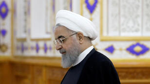 الرئيس الإيراني حسن روحاني-