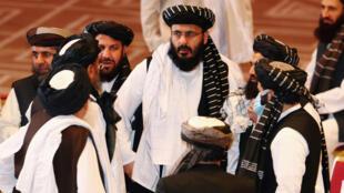 ممثلون لحركة طالبان الأفغانية في العاصمة القطرية