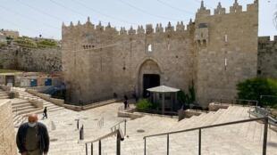 باب العامود في القدس القديمة