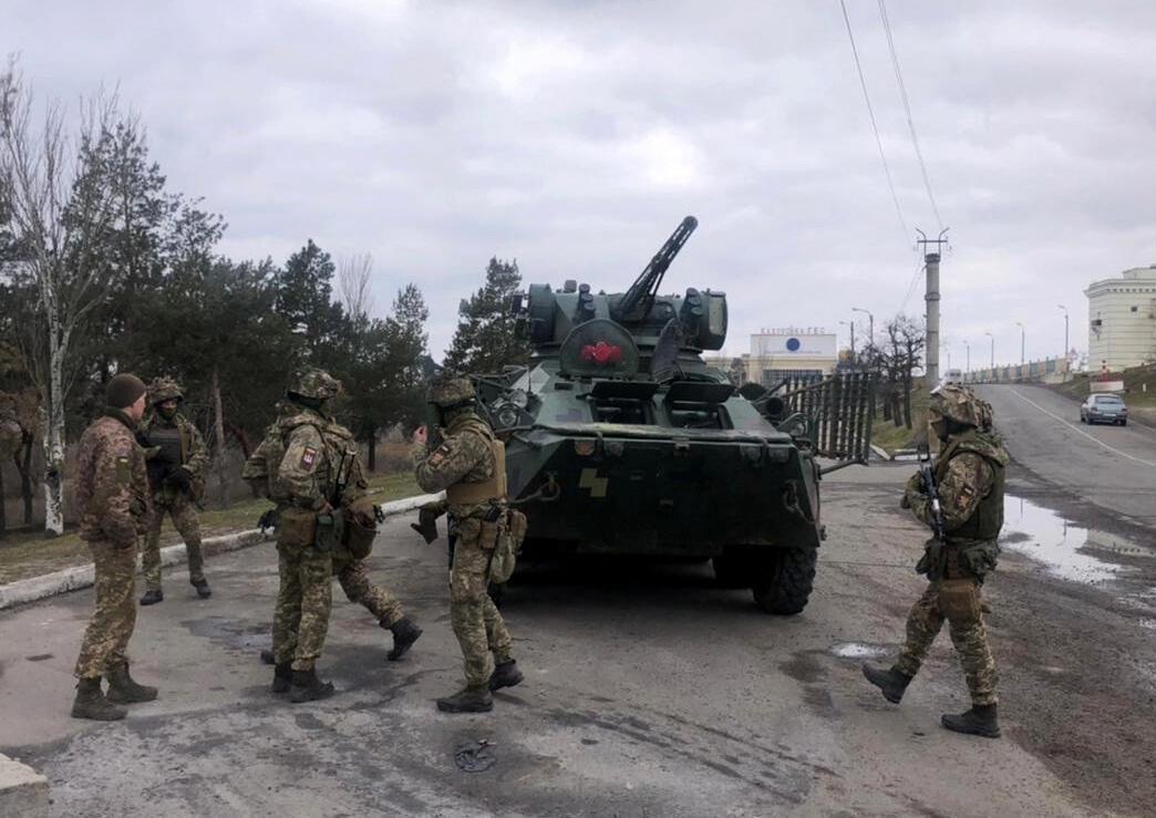forces ukrainiennes 14 04 2021