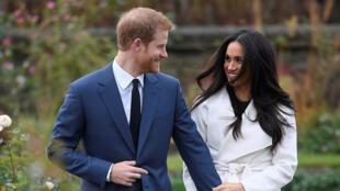 الأمير هاري وزوجته ميغن ماركل