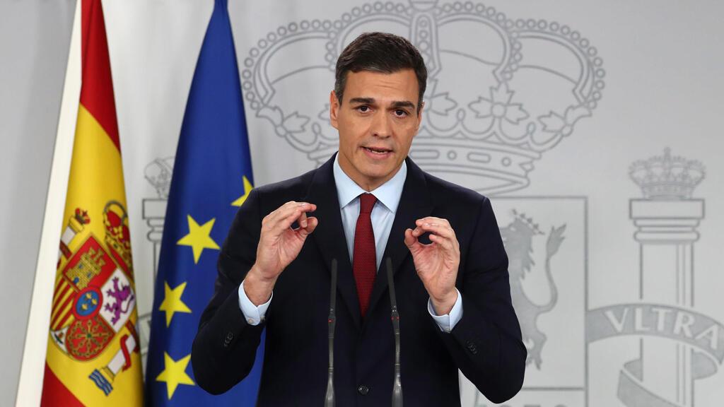 رئيس الوزراء الإسباني بيدرو سانتشيث