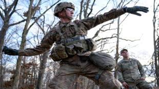 من تدريبات الجيش الأمريكي