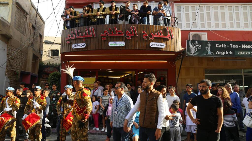 المسرح الوطني اللبناني في مدينة صور، لبنان