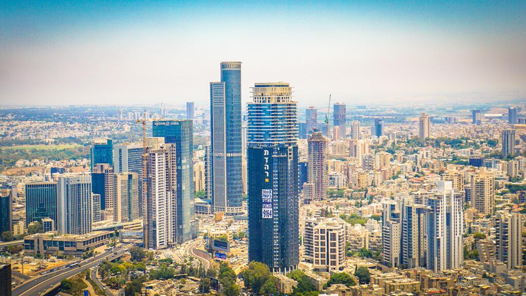 منظر عام لمدينة تل أبيب الإسرائيلية