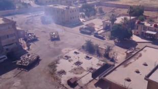 دخول قوات الجيش السوري بعد اتفاق المصالحة