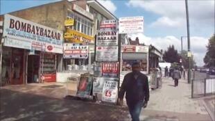 حي وامبلي في شمال لندن حيث تتواجد فيه الجالية الهندية بكثافة