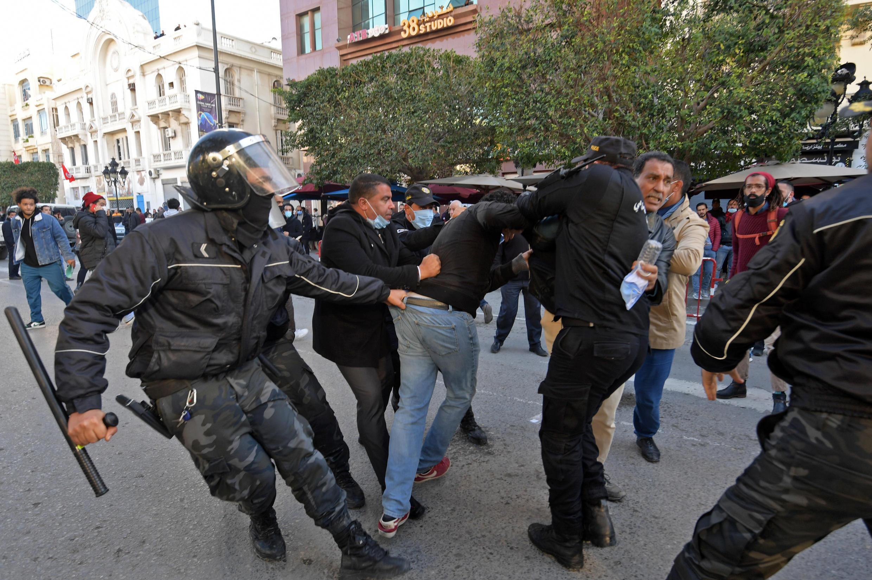 arrestation tunisie 19 01 2021