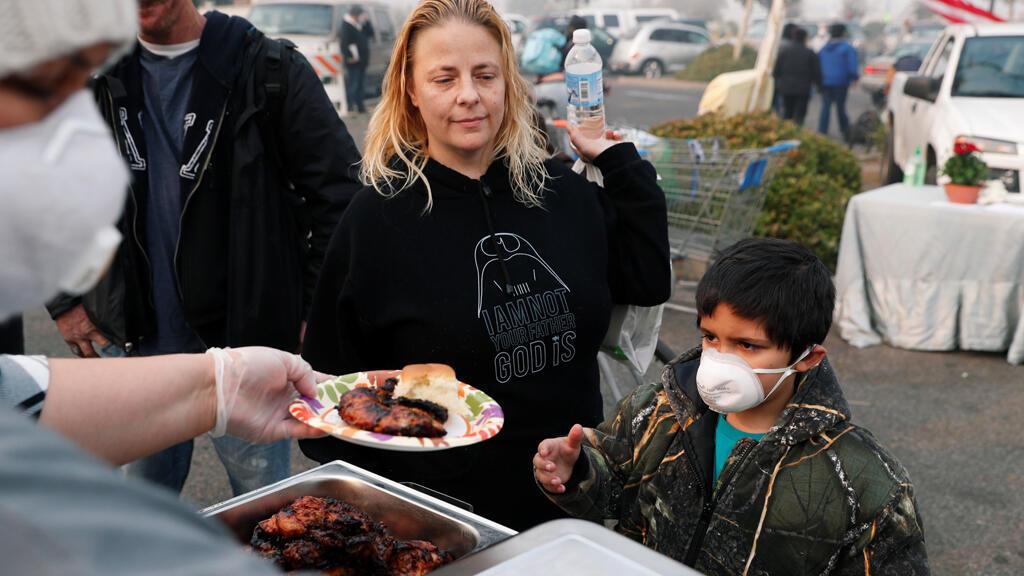أسرة فقدت منزلها نتيجة الحرائق