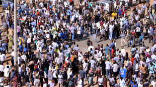 مظاهرات مناهضة للحكومة في الخرطوم