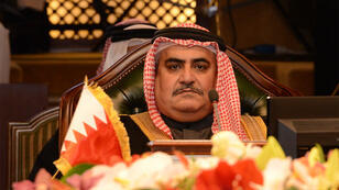 وزير الخارجية البحريني الشيخ خالد بن احمد بن محمد آل خليفة