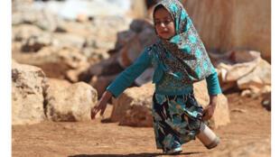 الطفلة السورية مايا