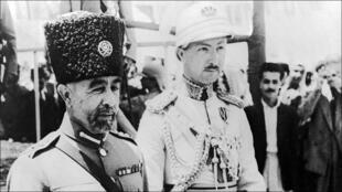 الملك عبد الله في الأردن عام 1948