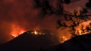 لقى ما لا يقل عن أربعة أشخاص مصرعهم فى حريق هائل دمر الجانب الجنوبى من غابة ترودوس بجزيرة قبرص منذ يوم السبت 3 يوليو 2021