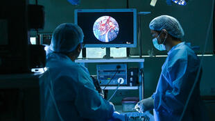 مريض بالفطر الأسود في مستشفى بمدينة غازي آباد الهندية