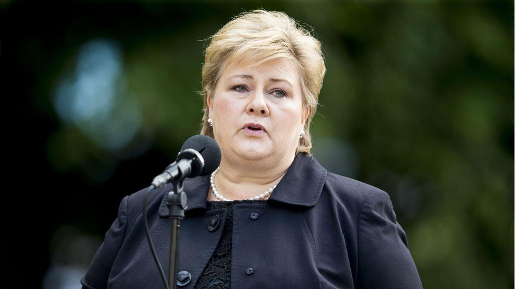 رئيسة وزراء النروج إرنا سولبرغ