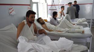 طلاب جرحى في الهجوم على الجامعة الأميركية في كابول 25-08-2016