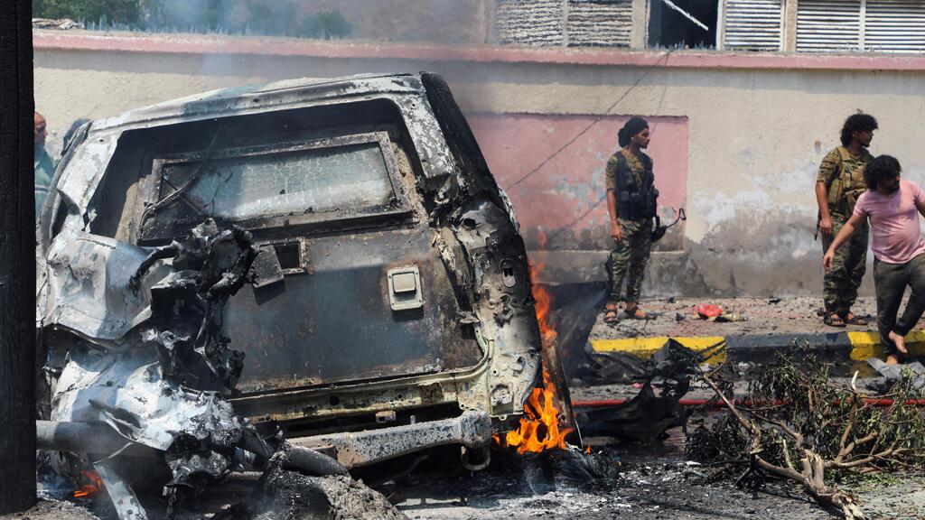 انفجار سيارة مفخخة في مدينة عدن اليمنية