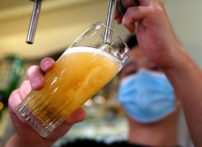 biere sous pression