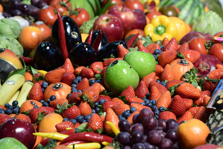 legumes et fruits illustration