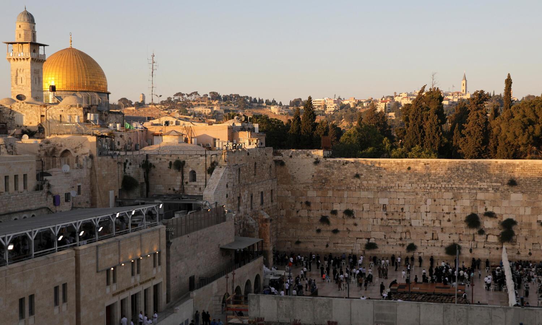 منظر عام للمدينة القديمة بالقدس