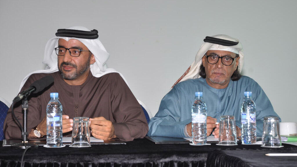 خالد الظنحاني مع عمر بن قلالة العامري (مونت كارلو الدولية)