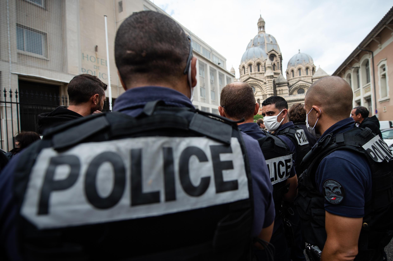 police manif marseille